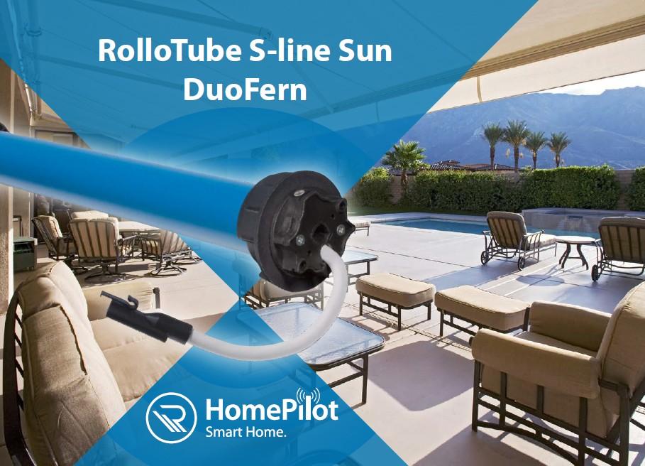 RolloTube S-line Sun DuoFern
